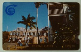 ANTIGUA & BARBUDA - GPT - ANT-1B - $10 - 1CATB - 1st Issue - Nelson's Dockyard - Used - Antigua And Barbuda