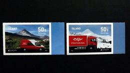 Island 1394/5 A **/mnh, EUROPA/CEPT 2013, Postfahrzeuge - 1944-... República