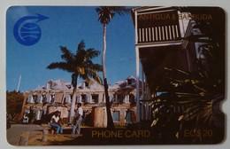 ANTIGUA & BARBUDA - GPT - ANT-1C - $20 - 1CATC - 1st Issue - Nelson's Dockyard - Used - Antigua And Barbuda