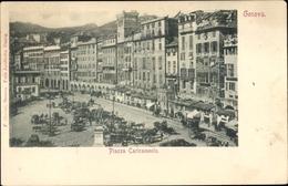Cp Genova Genua Ligurien, Piazza Caricamento - Other