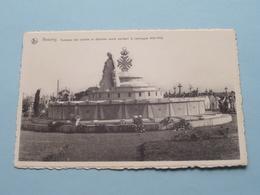 Tombeau Des Soldats Et Déportès Morts Pendant La Campagne 1914-1918 ( W. Bourgies ) Anno 19?? ( Zie / See Photo ) ! - Antoing