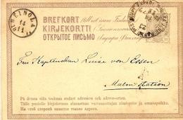 1877- C P E P 10 Penni  To Heinola - Finland