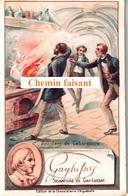 Chromo Chocolaterie D'AIGUEBELLE - GAY-LUSSAC + Signature De L'intéressé -  Scans Recto-verso - Aiguebelle
