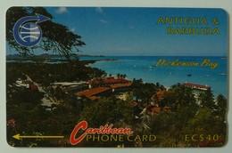 ANTIGUA & BARBUDA - GPT - 5CATA - $40 - ANT-5A - Dickenson Bay - Used - Antigua And Barbuda