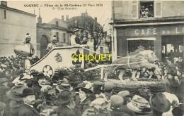 16 Cognac, Fêtes De La Mi-Carême 1909, Le Char Romain - Cognac