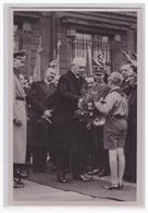 """DT- Reich (002048) Propaganda Sammelbild Deutschland Erwacht"""""""" Bild 129, Hitlerjugend Grüßt Den Generalfeldmarschall - Briefe U. Dokumente"""