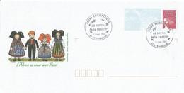 """2 Envel. FDC - """"Foire Européenne, La Sortie De La Rentrée"""" - Oblit. Strasbourg (67, France) 13.09.2003. (4 SCANS). - FDC"""