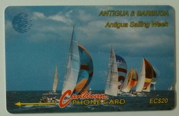 ANTIGUA & BARBUDA - GPT - $20 - 13CATB - Sailing Week - ANT-13B - Used - Antigua And Barbuda