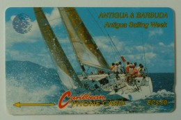 ANTIGUA & BARBUDA - GPT - $60 - 7CATE - Sailing Week - ANT-7E - Used - Antigua And Barbuda