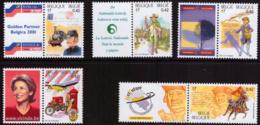 Belgium 2996/00** Belgica 2001  MNH + Label - Belgium