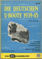 Die Deutschen U-Boote 1939-45 - Otto Mielke - 112 Seiten - Police & Military
