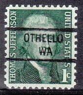 USA Precancel Vorausentwertung Preo, Locals Washington, Othello 841 - Vereinigte Staaten