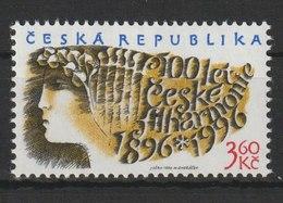 MiNr. 100 Tschechische Republik: 2. Jan. 100 Jahre Philharmonisches Orchester. - Czech Republic