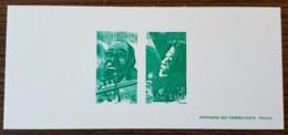 GRAVURE - YT N°3500, 3503 - Grands Interprètes De Jazz - 2002 - Documenten Van De Post