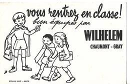 Buvard WILHELEM  70 GRAY / 52 CHAUMONT / Vêtements / Buvard ERBE Brive Signature JIL - Textile & Clothing