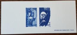 GRAVURE - YT N°3502, 3504 - Grands Interprètes De Jazz - 2002 - Documenten Van De Post