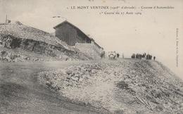 18/10/151  -  MONT  VENTOUX  ( 84 )   -COURSES  D'AUTOMOBILES  -1 ère Course Du 27/08/1904 - Rally's