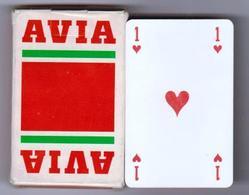 """Jeu De 32 Cartes à Jouer """" AVIA """" Produits Pétrolier Essence (scann Recto-verso) [Bte10]_Di345 - 32 Cards"""