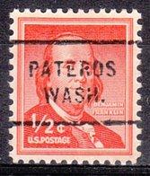 USA Precancel Vorausentwertung Preo, Locals Washington, Pateros 712 - Vereinigte Staaten