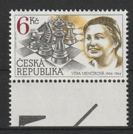 MiNr. 102 Tschechische Republik: 1996, 14. Febr. 90. Geburtstag Von Véra Men∑iková. - Unused Stamps