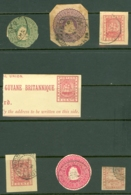 British Guiana: 18xx   Prepaid Selection (7)    Used - British Guiana (...-1966)
