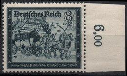 ALLEMAGNE DEUTSCHES III REICH 806 ** MNH Fédération Des Postiers Allemands Facteur Factrice - Germany