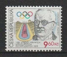 MiNr. 105 Tschechische Republik: 1996, 27. März. 100 Jahre Olympische Spiele Der Neuzeit. - Czech Republic