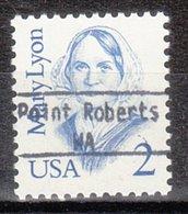 USA Precancel Vorausentwertung Preo, Locals Washington, Point Roberts 896 - Vereinigte Staaten