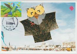 Berck Sur Mer Rencontre Internationale Cerfs-volants 2003 - Gedenkstempel