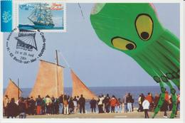 Berck Sur Mer Rencontre Internationale Cerfs-volants 2004 - Gedenkstempel