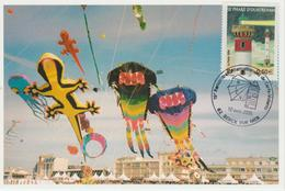 Berck Sur Mer Rencontre Internationale Cerfs-volants 2005 - Gedenkstempel