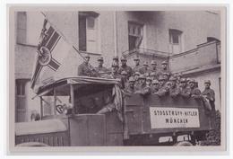 """DT- Reich (002108) Propaganda Sammelbild Deutschland Erwacht"""""""" Bild 25, Stoßtrupp Hitler 1923 - Briefe U. Dokumente"""