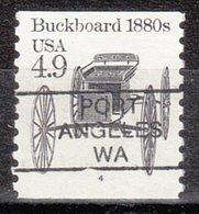 USA Precancel Vorausentwertung Preo, Locals Washington, Port Angeles L-1 HS, Plate# 4 - Vereinigte Staaten
