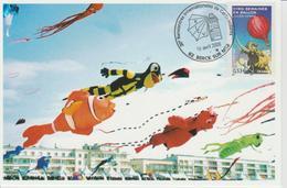 Berck Sur Mer Rencontre Internationale Cerfs-volants 2006 - Gedenkstempel