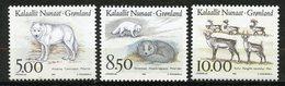 Groenland, Yvert 227/229, Scott 262/264, MNH - Groenland