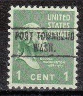USA Precancel Vorausentwertung Preo, Locals Washington, Port Townsend 748 - Vereinigte Staaten