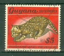 Guyana: 1969/71   Pictorial    SG499     $5   [with Wmk]   Used - Guyana (1966-...)