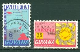 Guyana: 1969   CARIFTA   Used - Guyana (1966-...)