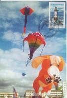 Berck Sur Mer Rencontre Internationale Cerfs-volants 2008 - Gedenkstempel