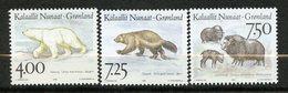 Groenland, Yvert 253/255, Scott 296/298, MNH - Groenland