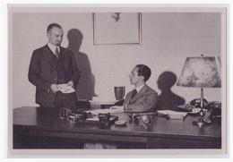 Dt.-Reich (002124) Propaganda Sammelbild, Deutschland Erwacht, Bild 167, Dr. Göbbels Und Sein Persönlicher Referent - Deutschland