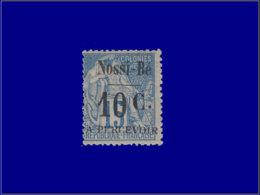 NOSSI-BE Taxe Yvert:8, Frais: 10/15c. Bleu - Qualité: X . Cote: 260 - Nossi-Bé (1889-1901)