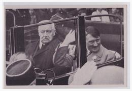 """DT- Reich (002132) Propaganda Sammelbild Deutschland Erwacht"""""""" Bild 126, Reichspräsident Und Reichskanzler Am 1.5.1933 - Briefe U. Dokumente"""