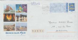 Berck Sur Mer Rencontre Internationale Cerfs-volants Flamme Concordante - Prêts-à-poster:  Autres (1995-...)