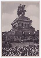 DT- Reich (002148) Propaganda Sammelbild Deutschland Erwacht Bild 176, Die Deutsche Arbeitsfront, Am Deutschen Eck 1933 - Deutschland