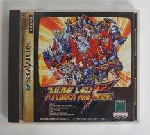 Saturn Japan : Super Robot Taisen F: Kanketsuhen / T-20612G - Sega