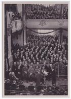 DT- Reich (002152) Propaganda Sammelbild Deutschland Erwacht Bild 123, Wir Wollen Dem Volk Den Frieden Geben, - Briefe U. Dokumente