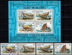 MVS-BK1-287 MINT ¤ VIRGIN ISLANDS 1983 KOMPL. SET ¤ MARITIEM - VOILIERS - ZEILSCHEPEN - SAILING SHIPS OVER THE WORLD - Maritiem