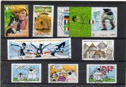 FRANCE    8 Timbres     2000 à 2006     Belles Oblitérations - France