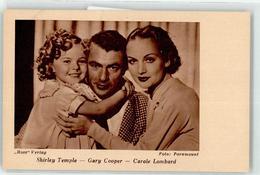 52890800 - Cooper, Gary Temple, Shirley Lombard, Carole Ross Verlag - Acteurs